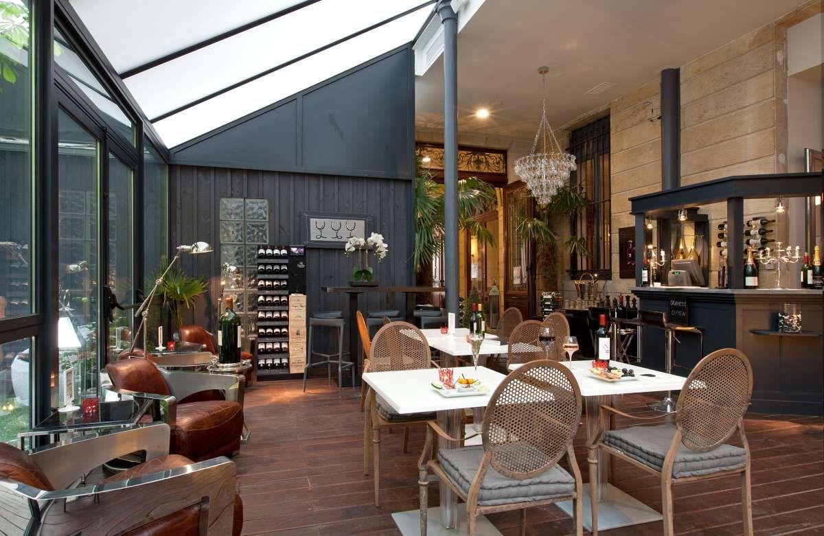 Bar vin bordeaux oenotourisme bordeaux centre h tel for Hotel de luxe bordeaux