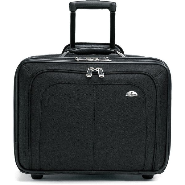 Samsonite Business One Mobile Office ($155) ❤ liked on Polyvore featuring home, home decor, office accessories, black, mobile office accessories and samsonite