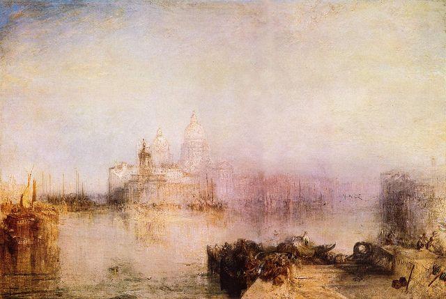 J M W Turner 絵画 美術史 水彩