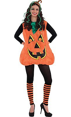 adult pretty pumpkin costume - Funny Halloween Costume Ideas Women