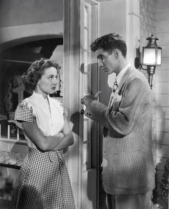 Jane Powell and Scotty Beckett - A Date with Judy And this is how they are for most of the film. Fighting about something or other. They *must* be in love.