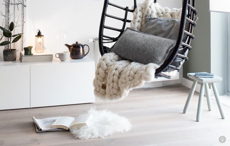 Hangstoel styling tanja van hoogdalem hanging chair hangstoel