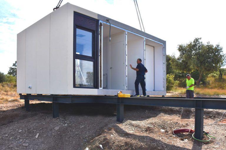 Construction System Smartliving In 2020 Beach House Design Self Build Houses Prefab Modular Homes