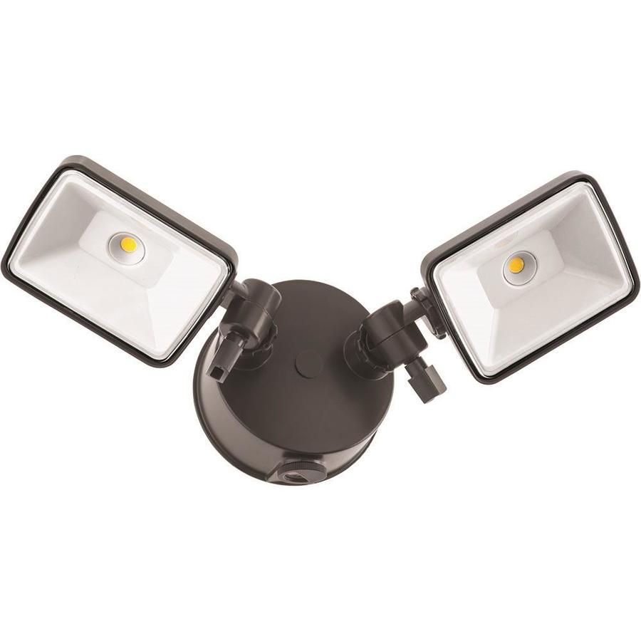 Lithonia Lighting 150 Watt Eq Bronze Integrated Led Dusk To Dawn Floodlight Olf2sh40k120peddbm4 Lithonia Lighting Led Flood Lights Outdoor Flood Lights