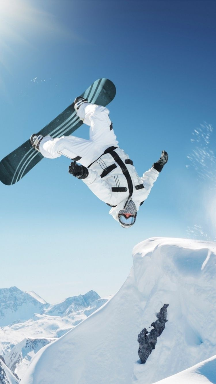 Snowboard Iphone Wallpaper Winter Sports Snowboard Skiing