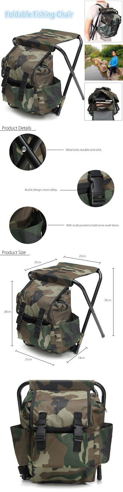 fishing chair rucksack koken barber model numbers chairs and seats 19985 2in1 hunting stool backpack fold seat bag camping