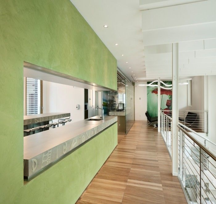 Fascinating creative office decorating ideas green accent creative autodesk offices in milan interior design