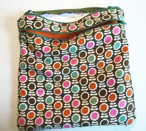 MADE TO ORDER  Dual zipper  Wet/Dry Bag  Medium by CreationsByFive, $22.00
