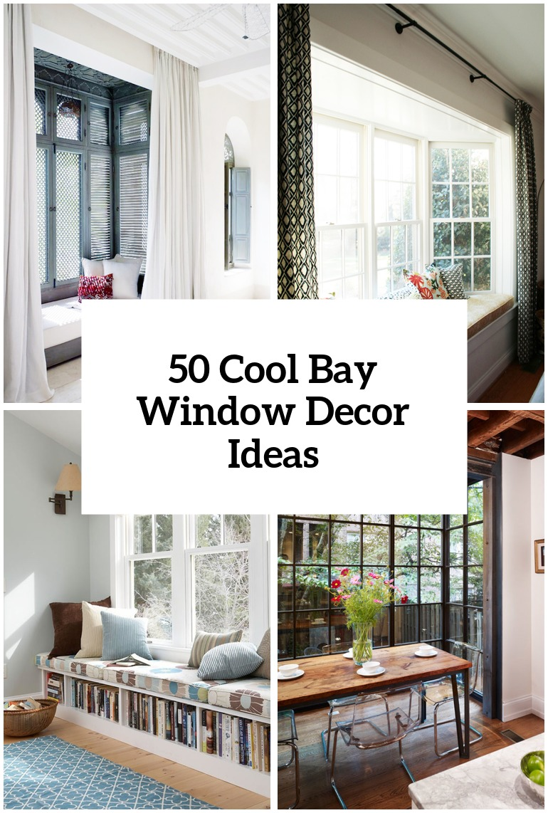 decorating a bay window living room in 2020 Bay window