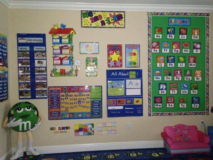 Home daycare ideas for circle time area Daycare decor