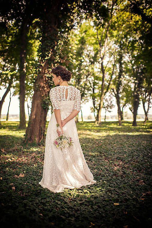 mara.zb / wintage svadobné šatky sl.L