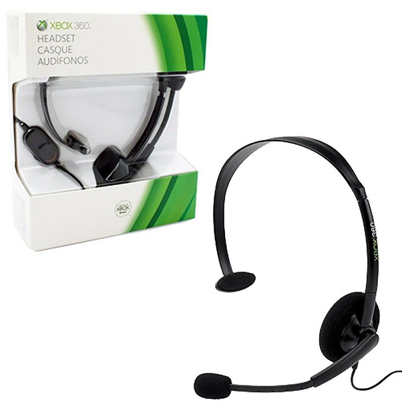 Xbox 360 black wired headset new microsoft httpswww xbox 360 black wired headset new microsoft https ccuart Image collections