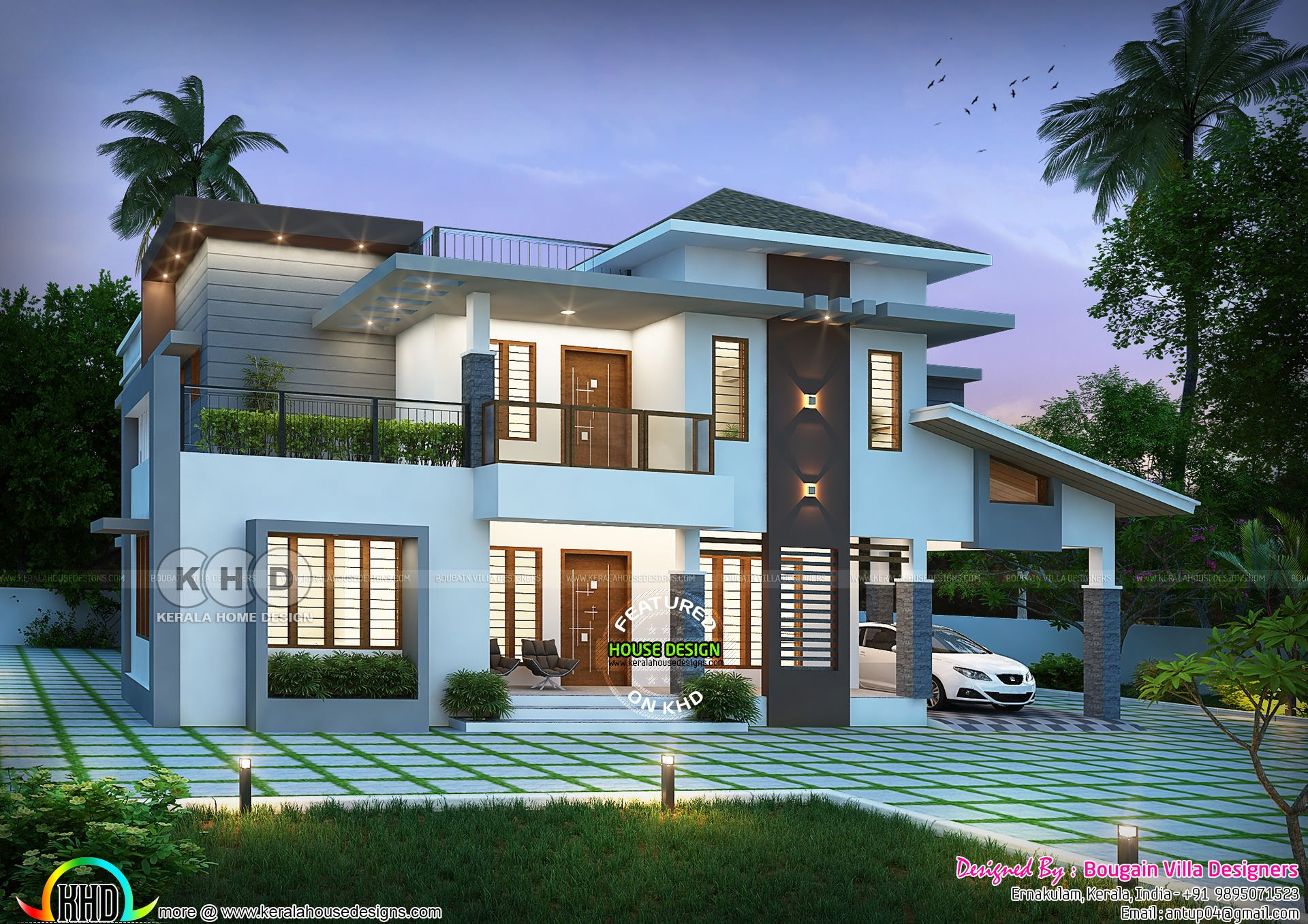 Classic Style 5 Bhk House 3200 Sq Ft In 2020 Kerala House Design