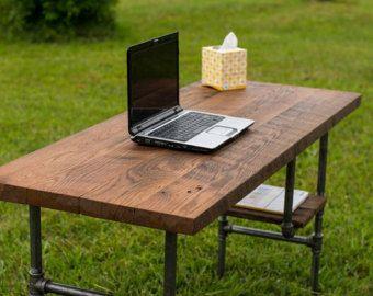 Reclaimed Wood Desk L Desk Corner Desk Office Table