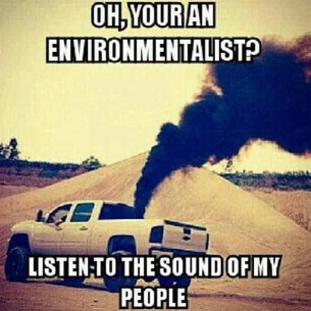 Diesel Trucks Rollin Coal On People