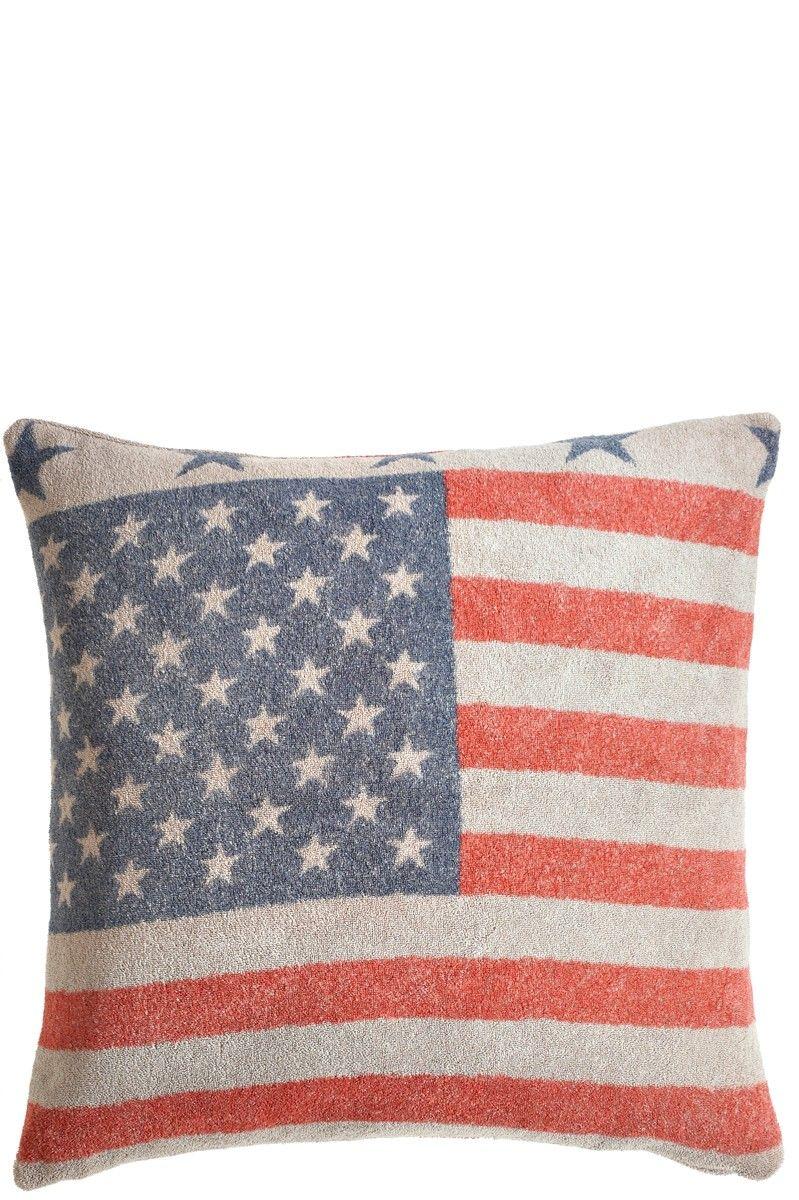 Americana Pillow | Calypso St. Barth