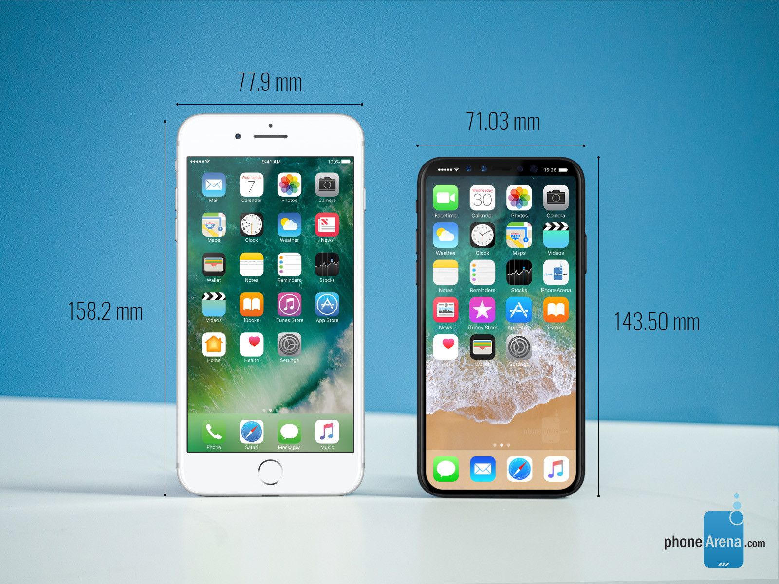 compare iphone models apple iphone 7 plus vs apple iphone 8 size comparison jpg 1600