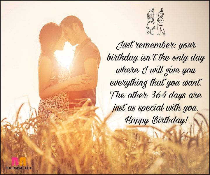 Birthday Love Quotes Gorgeous Birthday Love Quotes For Him The Special Man In Your Life