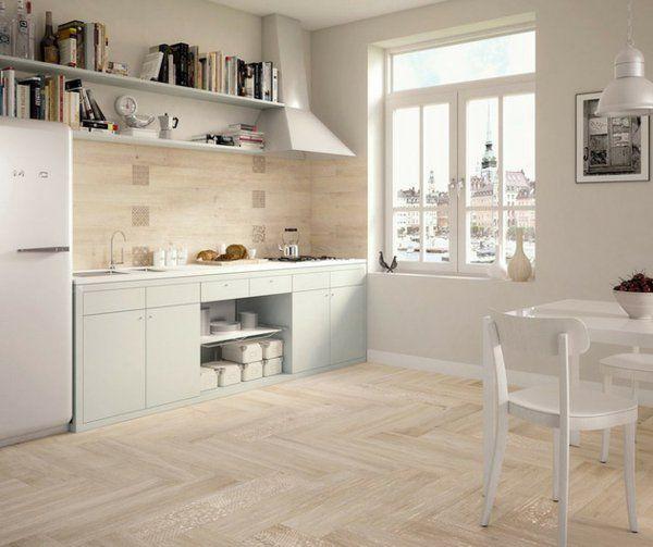 Amazing Fliesen Holzoptik Küche Images - Moderne Vintage ...