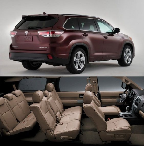 Cars With Third Row Seating >> Toyota Sequoia Platinum 3 Row Seats Best Cars Suv Cars Best Suv