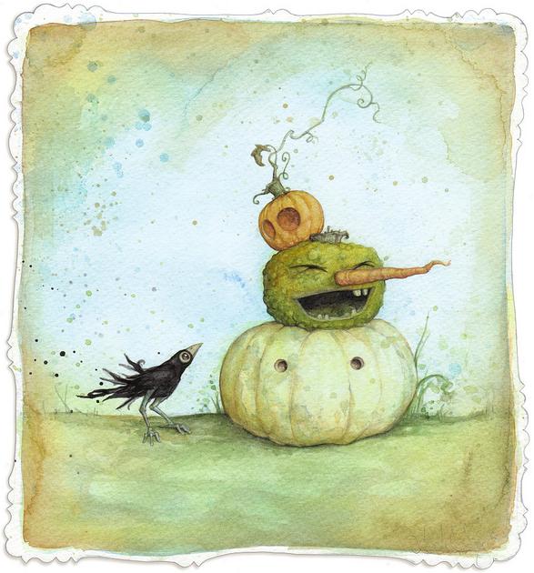 Love this Halloween Art!