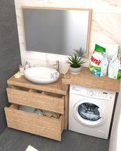 Photo of Mobile-bath-per-washer-2- mobile-bagno-per-lavatrice-2  Mobile-bath-per-washer-2…