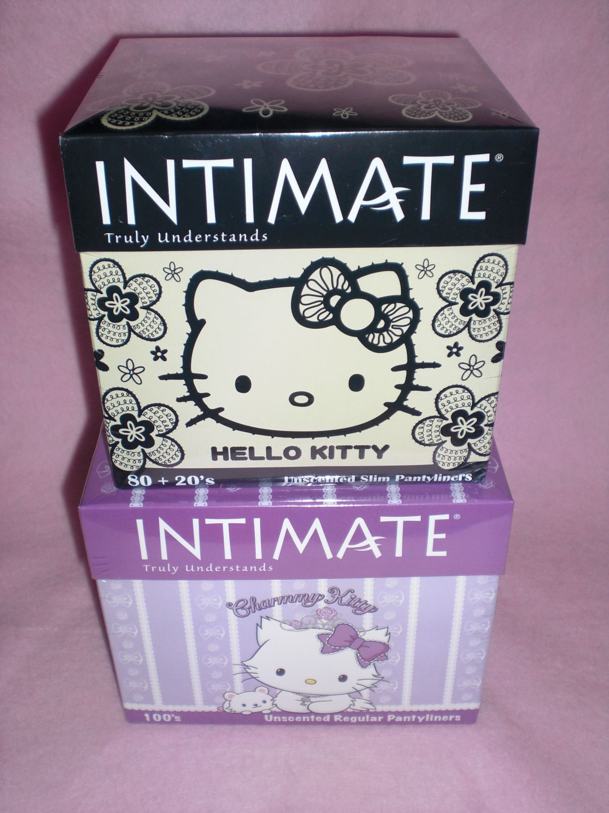 1a0a5628bc8 hello kitty intimate panty liners