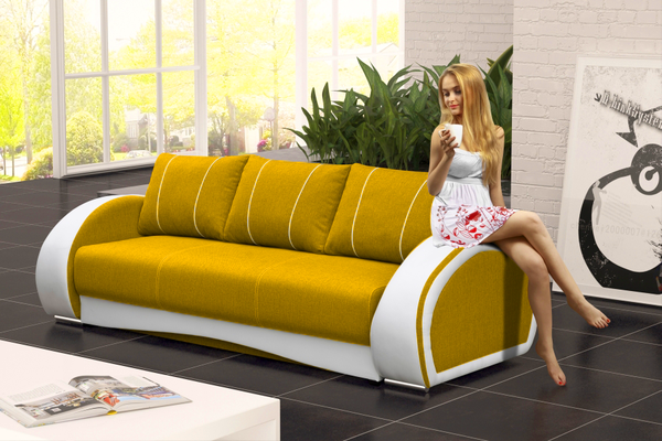 Modern Fabric Sofa Bed Cher Was Created For People Who Love Comfort