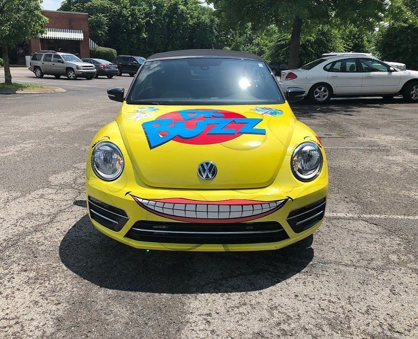 New Vehicle Wrap for Dr. Buzz Pediatric Dental Care in
