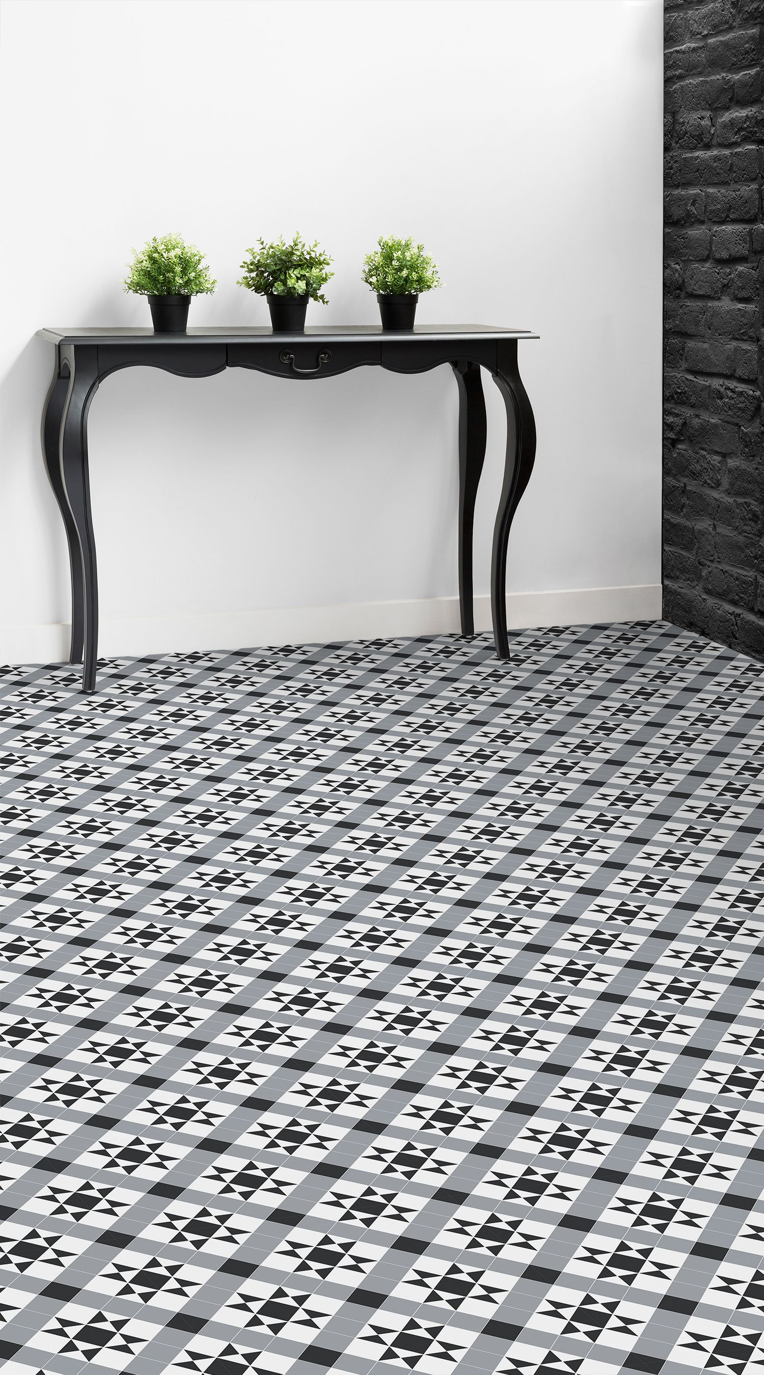 Modern Victorian Tile Effect Flooring | Contemporary, Interiors and ...