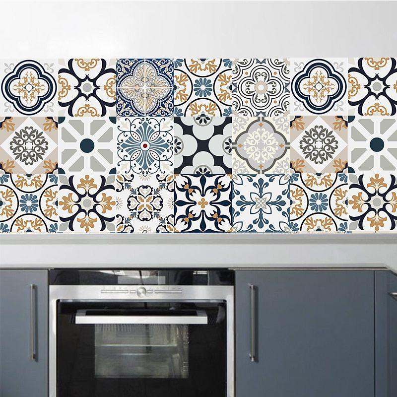 Smarter Shopping Better Living Aliexpress Com In 2020 Kitchen Wall Tiles Vinyl Wall Decals Kitchen Wall