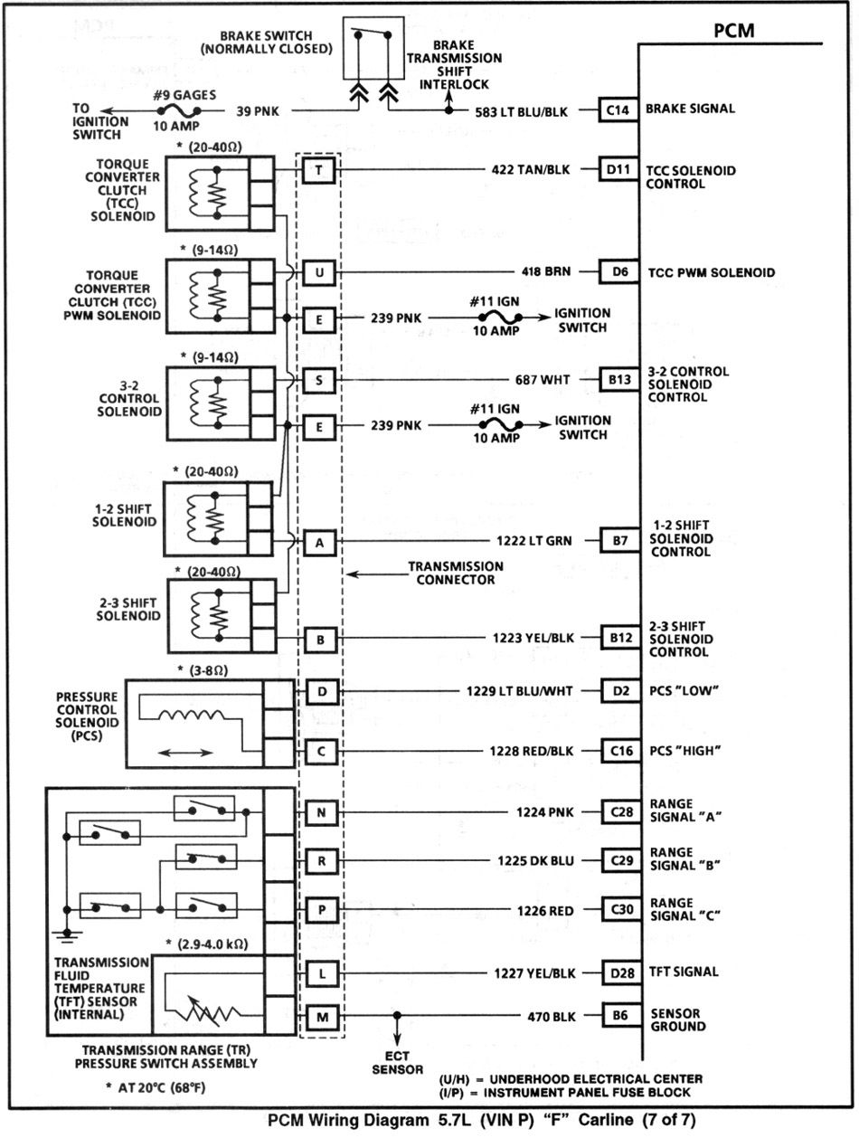 4th Gen Lt1 F Body Tech Articles Body Tech Electrical Wiring Diagram Diagram Design