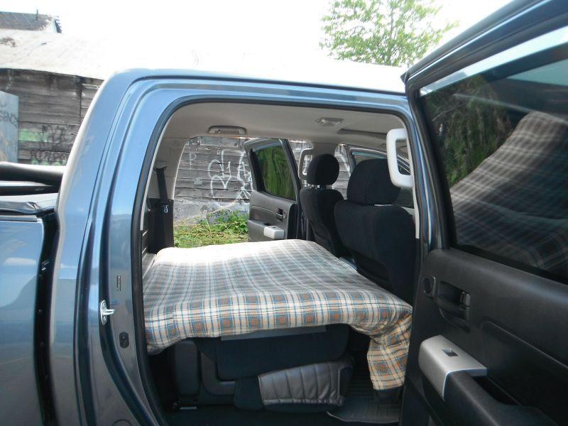 Lie flat double cab toyota tundra - 2013 toyota tacoma interior accessories ...