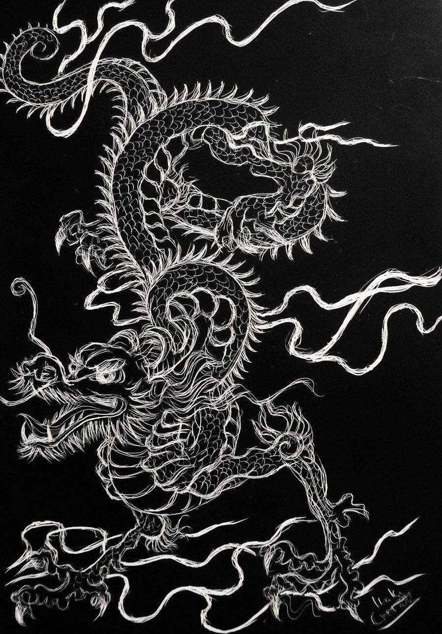 Chinese Dragon by SuperImki on DeviantArt