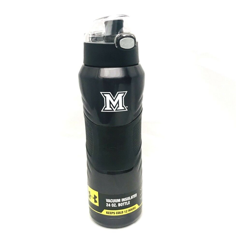 5d16853ef0 Under Armour Dominate 24 Ounce Stainless Steel Water Bottle U Of Maryland |  eBay