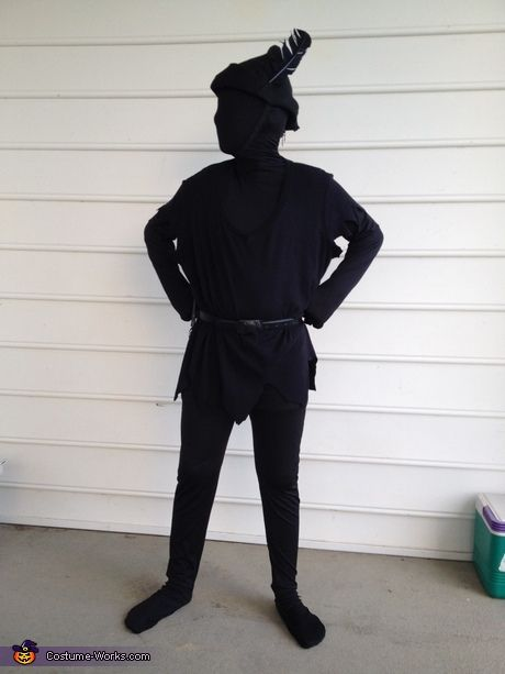 Peter Panu0027s Shadow Costume. Dye clothing sheets etc. black to make this DIY Halloween costume. #halloween #ritdye #DIY & 65 Clever Halloween Costumes for Kids | Pinterest | Shadow costume ...