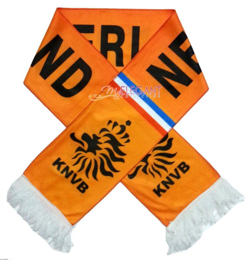 Download Netherlands Nl World Cup Country Flag Football Soccer Neck Scarf Souvenir Scarve Ebay