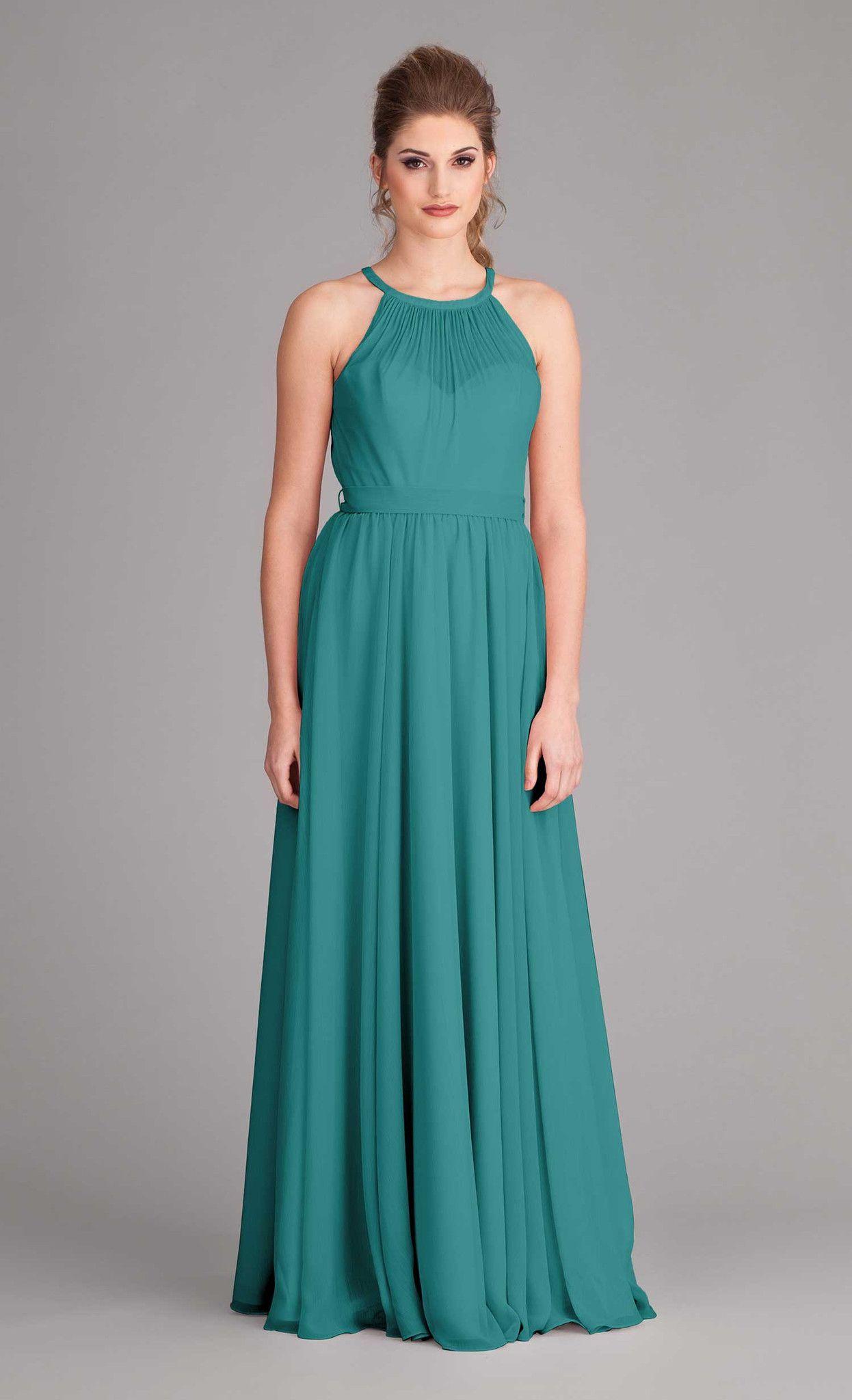 Kylee | Chiffon bridesmaid dresses, Peach and Wedding