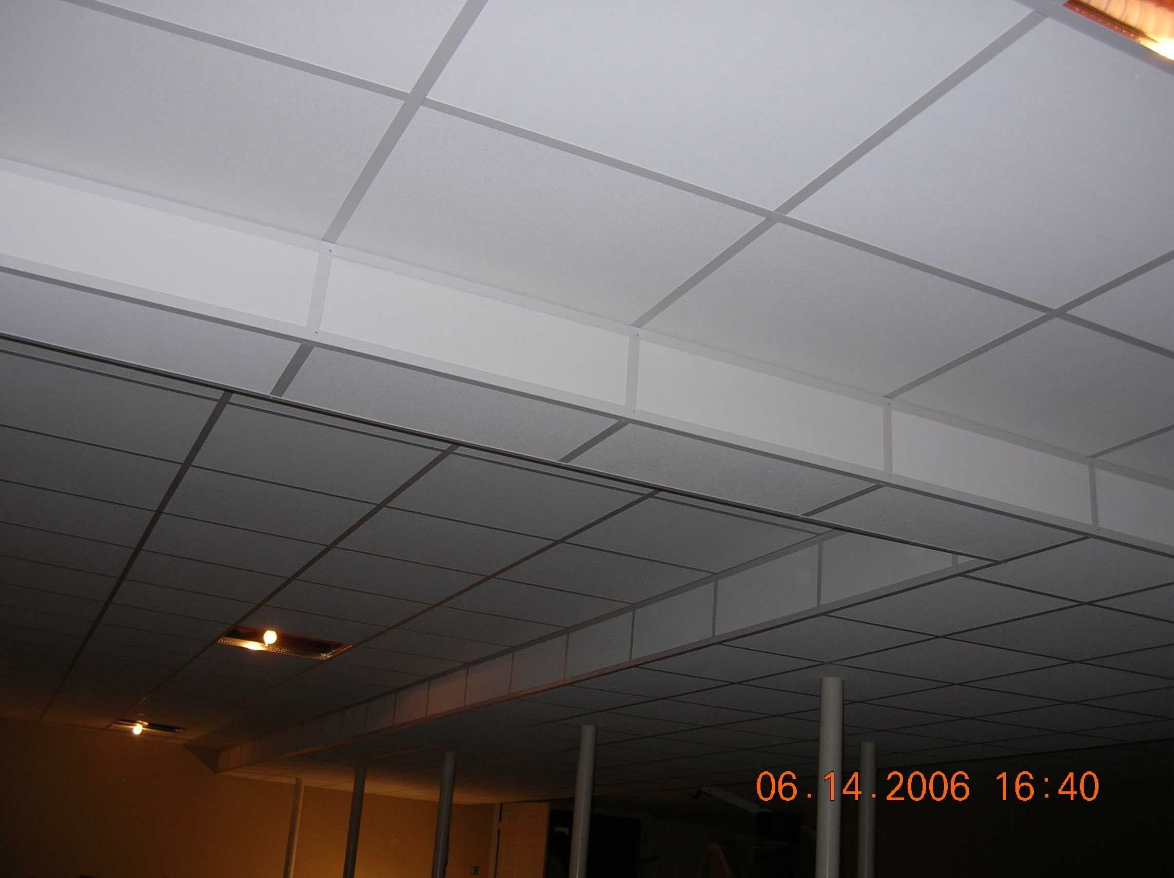 down ceilings drop ceiling suspended wikiwand en tiles dropped