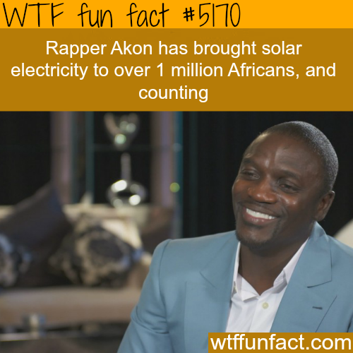 Akon Quotes: Akon Brought Solar Electricity To Over A Million Africans