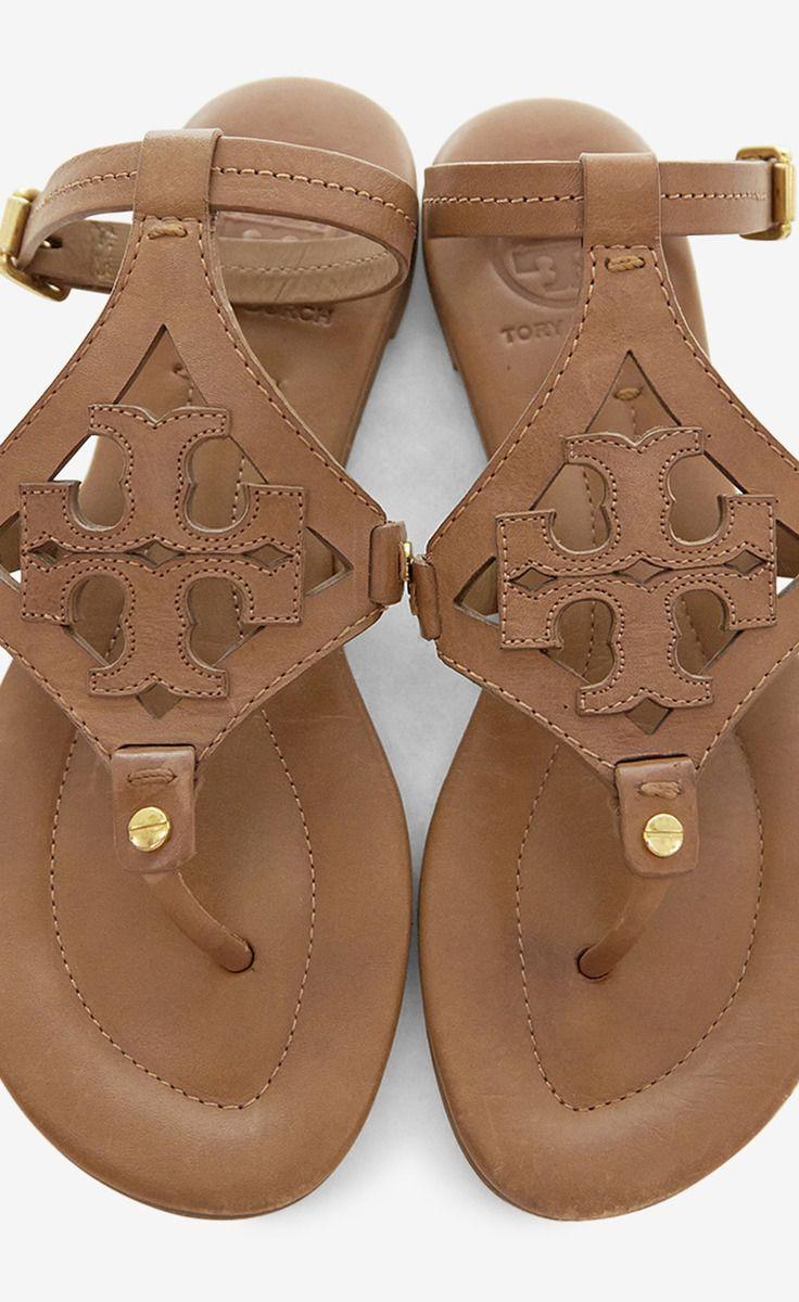 Tory Burch Tan Flat Sandal