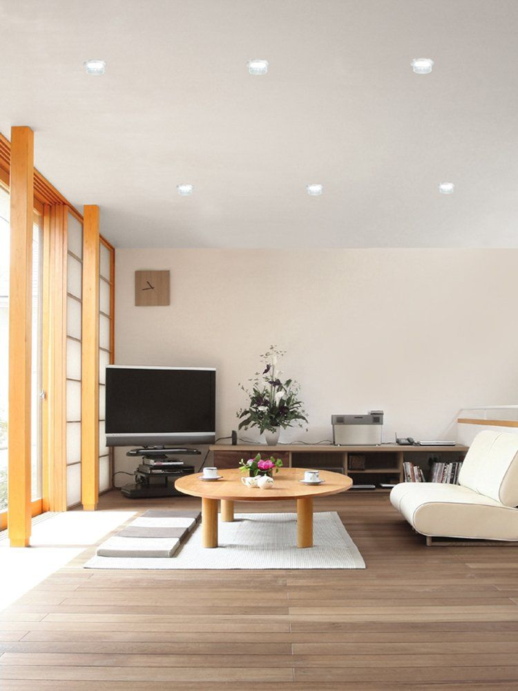 This Is An Example Of Downlights Being Used In A Living Room That