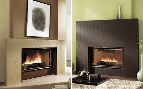 Contemporary Fireplace With Images Contemporary Fireplace