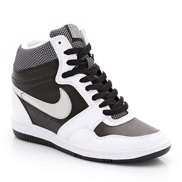 Nike HautesÀ Sky Baskets Force LacetsWmns HighSapas CdsQrBhtx