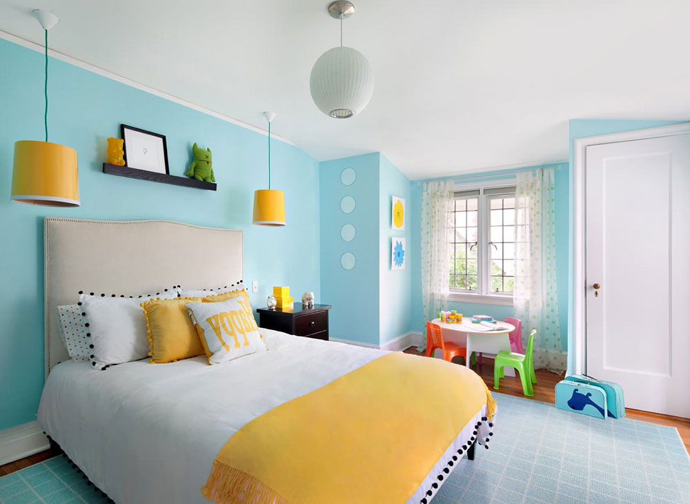 Bedroom Decorating Ideas Blue And Yellow Homedecor Livingroom Bathroom Livingroom Yellow Bedroom Decor Light Blue Bedroom Blue Bedroom Walls