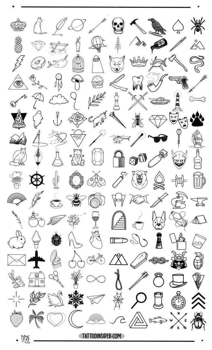 #kleine #TätowierungsEntwürfe #ursprüngliche #160 #ursprüngliche