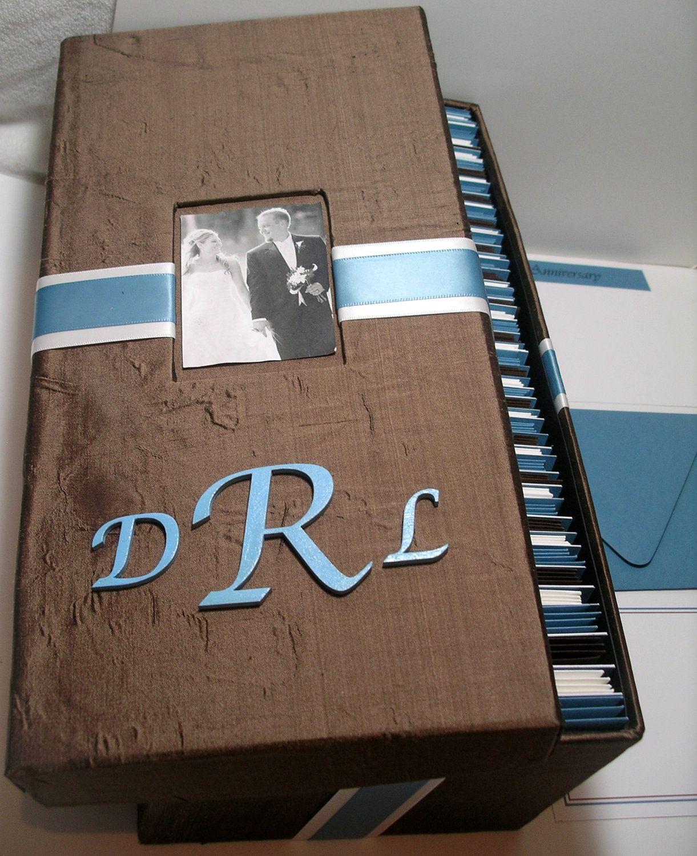 PhotoMonogram Wedding Guest Card Box  by MichelleWorldesigns