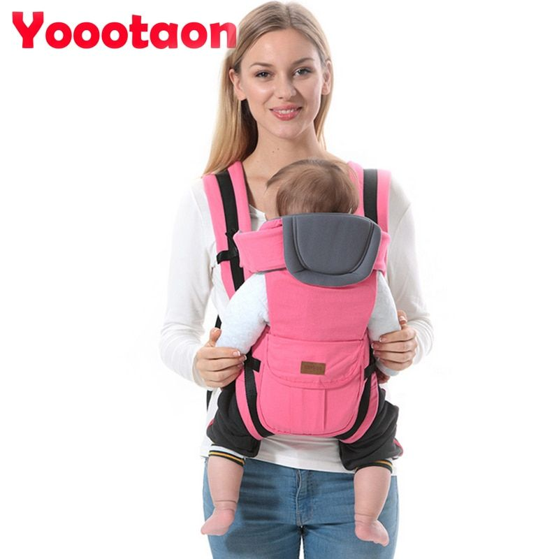 2 30 Months Breathable Multifunctional Front Facing Baby Carrier Infant Comfortable Sling Backpack Pouch Wrap Baby Kangaroo Kangaroo Baby Ergonomic Baby Carrier New Baby Products