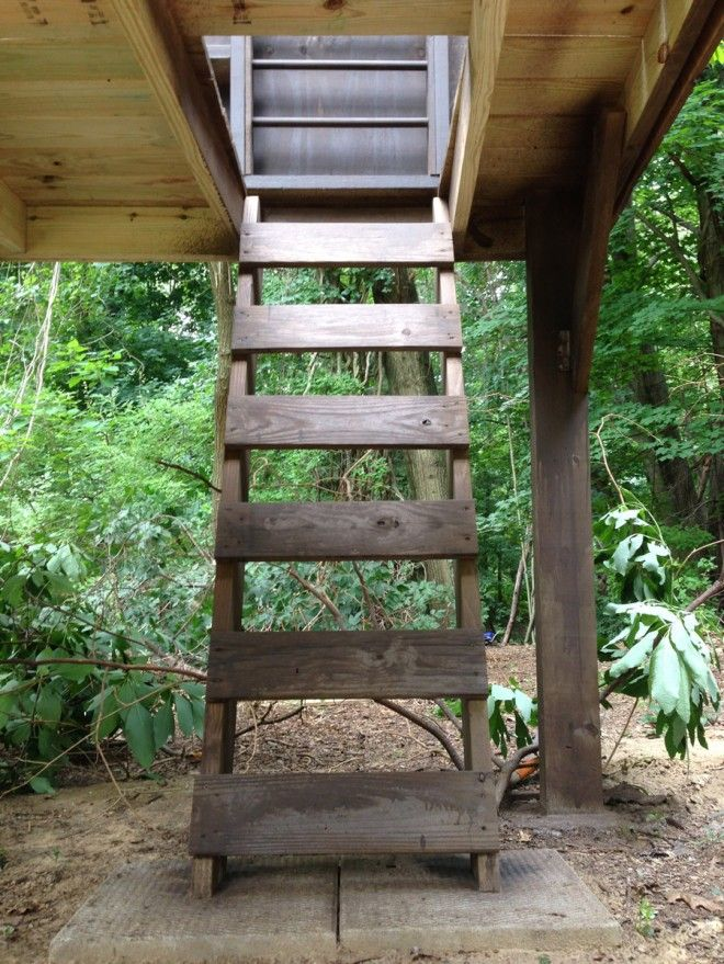 Our Great Treehouse (Railings + A Modern Roofline) Play