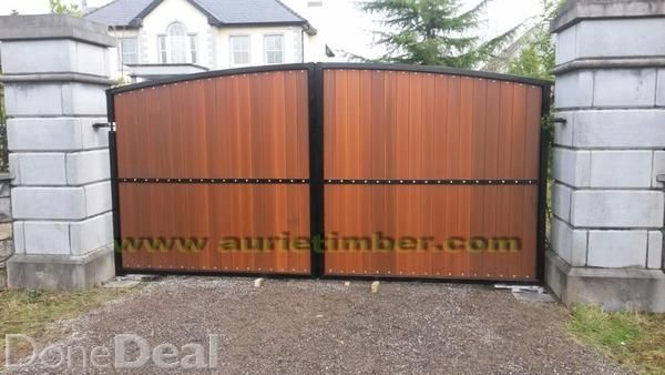 Canadian cedar or P.T.red deal timber gates ......For Sale in Co ...
